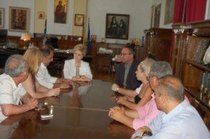 Συνάντηση του Δ.Σ. της Ε.ΔΗ.Π.Η.Τ. Μακεδονίας Θράκης με την Υφυπουργό κα. Μαρία Κόλλια – Τσαρουχά